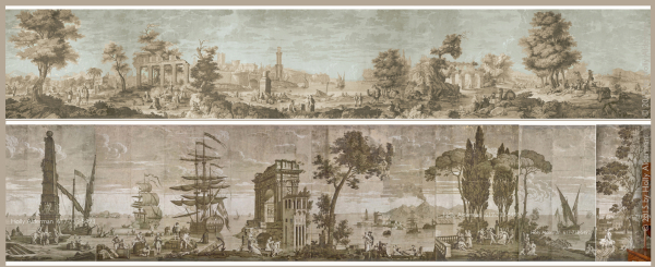 Two_iconic_antique_wallpaper_panoramas_in_digital_chic